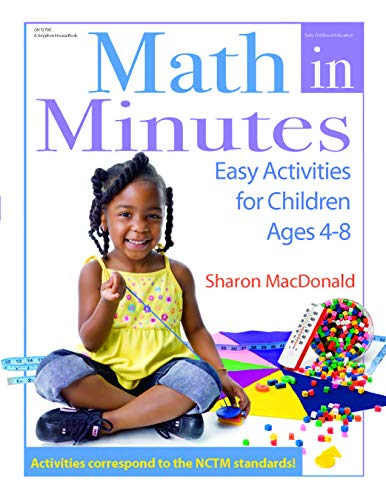 9780876590577: Math in Minutes: Easy Activities for Children Ages 4-8