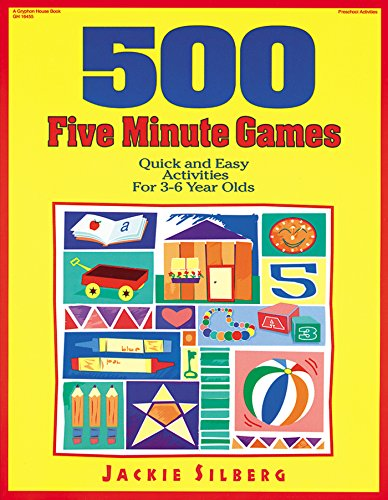 9780876591727: 500 Five Minute Games: Quick and Easy Activities for 3 to 6 Year Olds