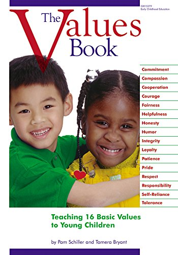 9780876591895: The Values Book: Teaching 16 Basic Values to Young Children