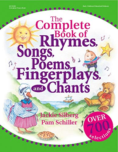 9780876592670: The Complete Book of Rhymes, Songs, Poems, Fingerplays, and Chants (Complete Book Series)