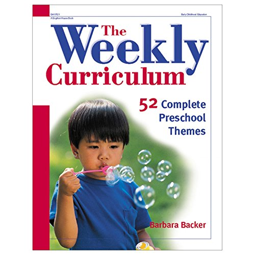 9780876592823: The Weekly Curriculum Book: 52 Complete Preschool Themes
