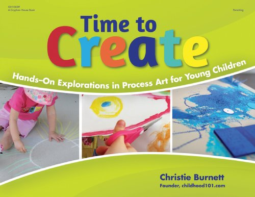 9780876594186: Time to Create: Hands-On Explorations in Process Art for Young Children