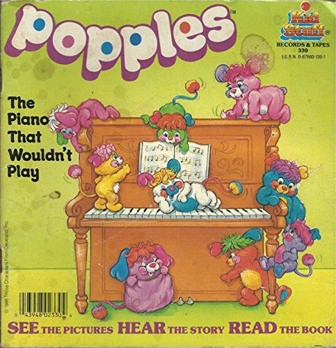The Piano that Wouldn't Play (Popples) (Book only): Roz (Tuttle & Kariotakis Abisch