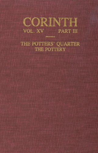 The Potters' Quarter, The Pottery (Corinth Volume: Stillwell, Agnes N.