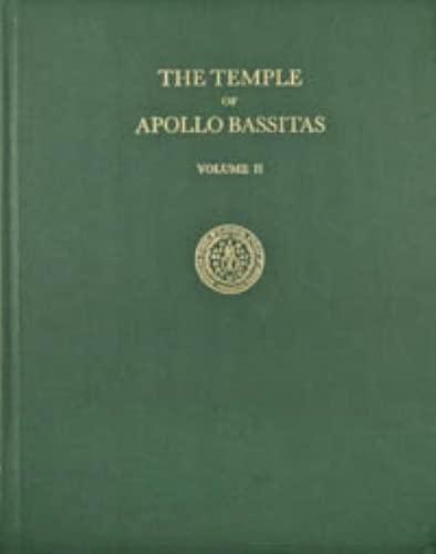 9780876619476: The Temple of Apollo Bassitas II: The Sculpture