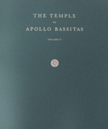 9780876619490: The Temple of Apollo Bassitas IV: Folio Drawings