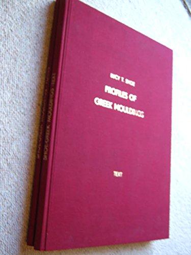 9780876619520: Profiles of Greek Mouldings