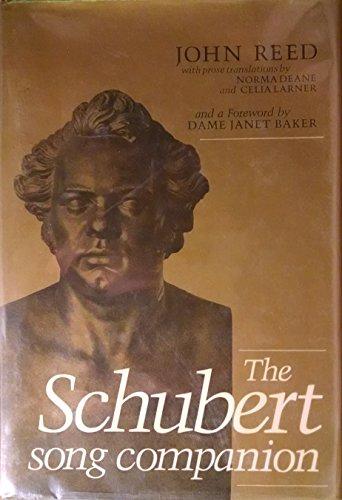 9780876634776: The Schubert Song Companion
