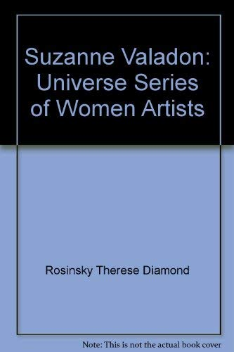 9780876636480: Suzanne Valadon: Universe Series of Women Artists