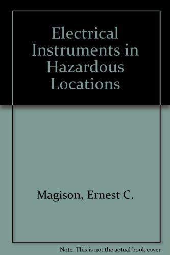 9780876641729: Electrical Instruments in Hazardous Locations