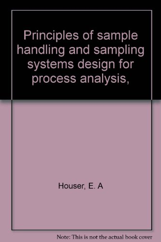 9780876641897: Principles of sample handling and sampling systems design for process analysis,