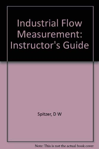9780876647677: Industrial flow measurement (Instructional resource package)