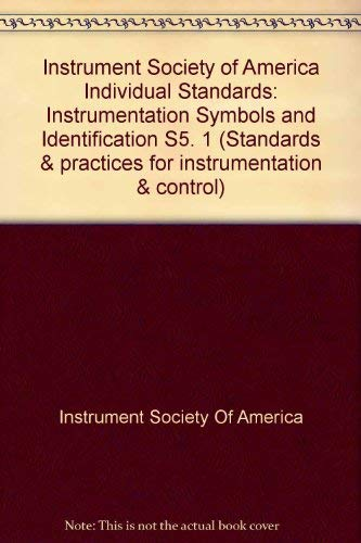 9780876648445 Instrument Society Of America Individual Standards