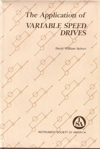 9780876649558: The application of variable speed drives