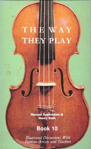 The Way They Play, Book 10 (0876665954) by Samuel Applebaum