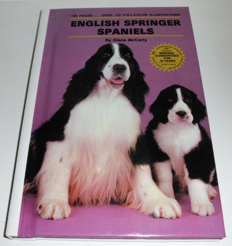 9780876666876: English Springer Spaniels (Kw Dog Breed Library)