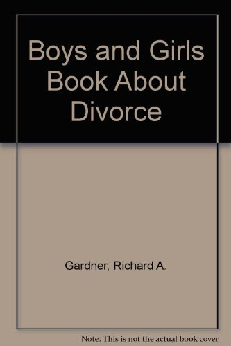 9780876680322: Boys and Girls Book About Divorce