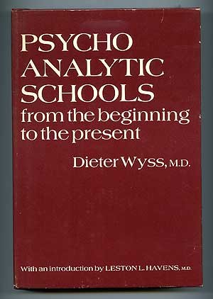 9780876680995: Psychoanalytic Schools from the Beginning to the Present. (English and German Edition)