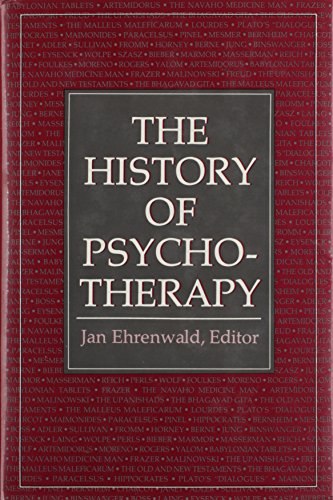 The history of psychotherapy.: EHRENWALD, J.