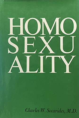 9780876683552: Homosexuality