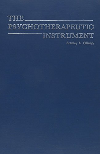 9780876684030: Psychotherapeutic Instrument (Classical Psychoanalysis and Its Applications)