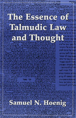 9780876684450: The Essence of Talmudic Law and Thought