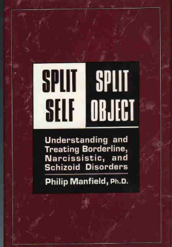 9780876684603: Split Self/Split Object: Understanding and Treating Borderline, Narcissistic, and Schizoid Disorders