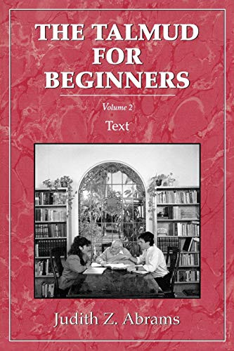 9780876685976: Talmud for Beginners: Text, Vol. 2 (Volume 2)