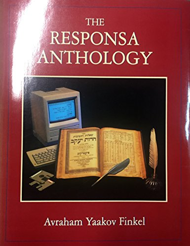 9780876687734: Responsa Anthology