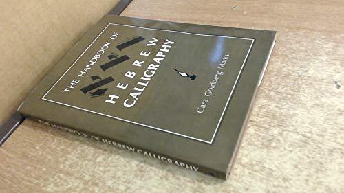 9780876687987: The Handbook of Hebrew Calligraphy