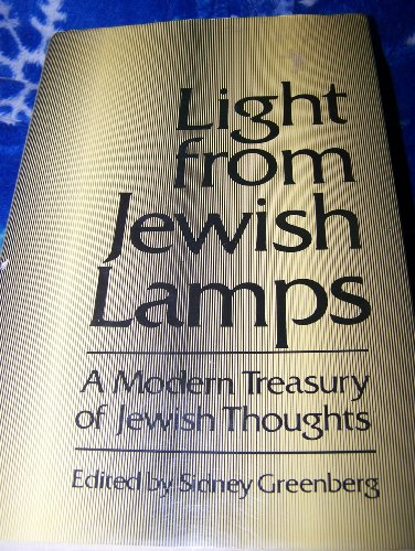 9780876689189: Light from Jewish Lamps: A Modern Treasury of Jewish Thoughts