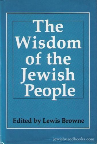 The Wisdom of the Jewish People