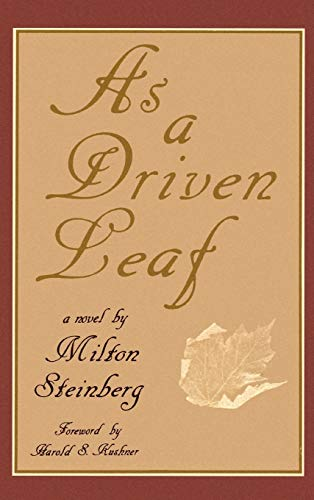 9780876689943: As a Driven Leaf