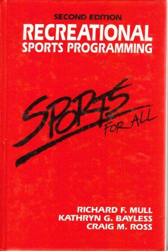 9780876700938: Recreational Sports Programming