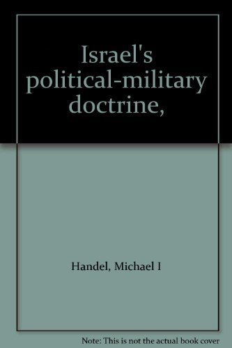 9780876740255: Israel's political-military doctrine,