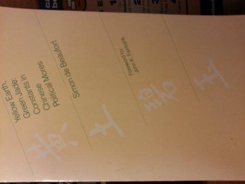 Yellow Earth, Green Jade : Constants in: de Beauvoir, Simone