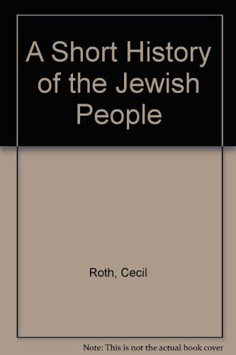 9780876770047: A Short History of the Jewish People