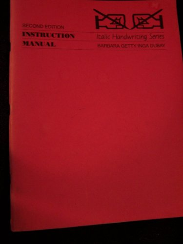 Italic Handwriting Series: Instructional Manual: Dubay, Inga &