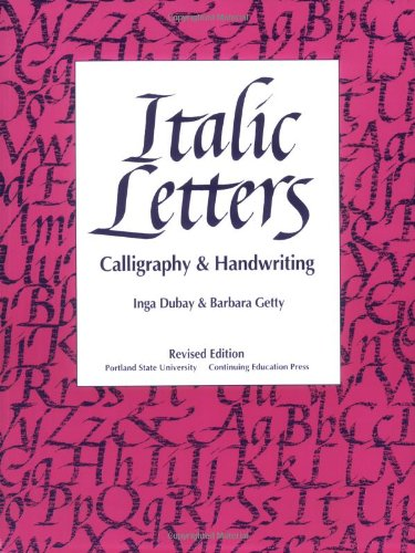 9780876780916: Italic Letters: Calligraphy and Handwriting
