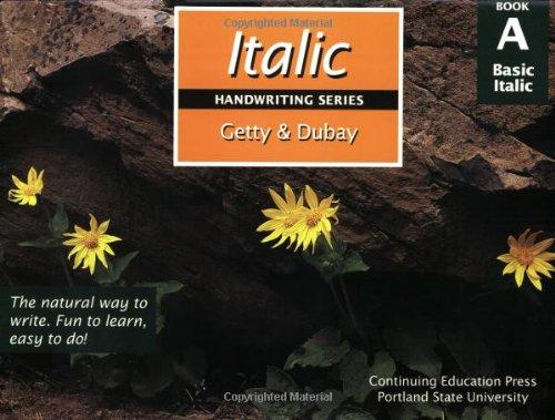 Italic Handwriting Series Book A: Barbara Getty, Inga
