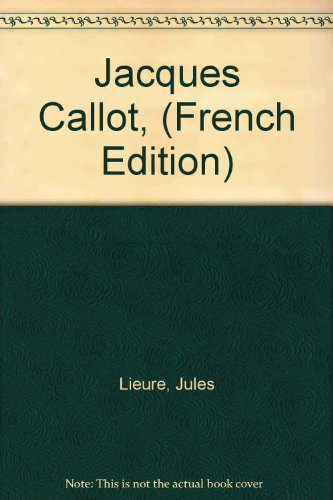 9780876810330: Jacques Callot, (French Edition)