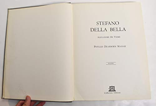 Stefano Della Bella; catalogue raisonne (French Edition): Baudi di Vesme, Alessandro