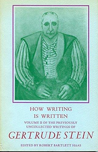 9780876851999: How Writing is Written