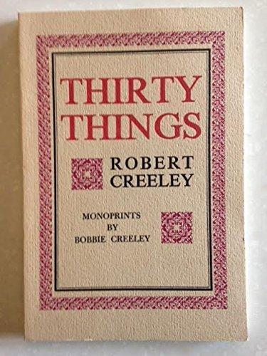 9780876852071: Thirty Things