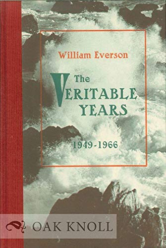 9780876853795: The veritable years, 1949-1966