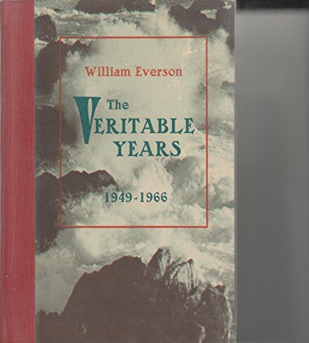 9780876853801: THE VERITABLE YEARS 1949-1966 (SIGNED EDITION)
