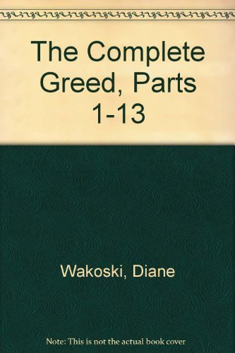 9780876854648: The Complete Greed, Parts 1-13