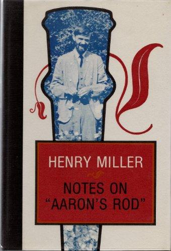 NOTES ON AARON'S ROD: MILLER