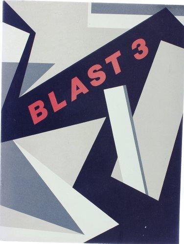 Blast 3 (Blast Three) (No.3): Lewis, Wyndham