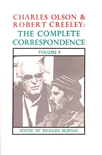 9780876857823: Charles Olson and Robert Creeley: The Complete Correspondence